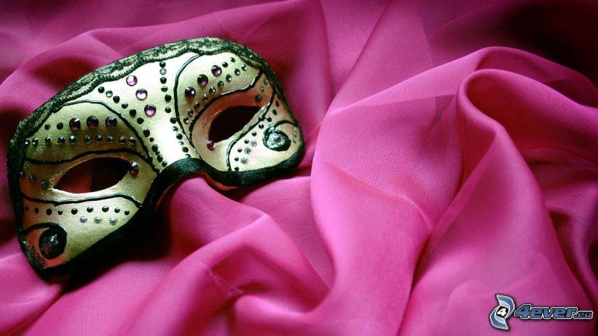 mask, silke