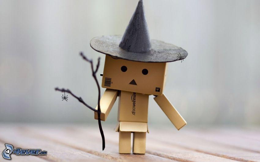 pappersrobot, trollkarl