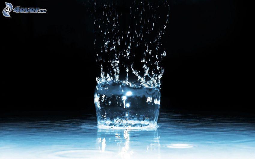 plask, vatten