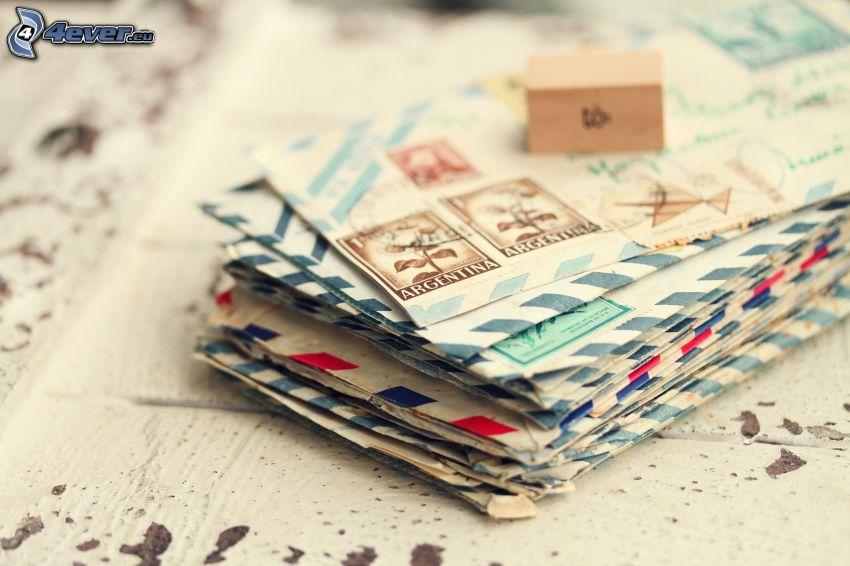 post, kuvert