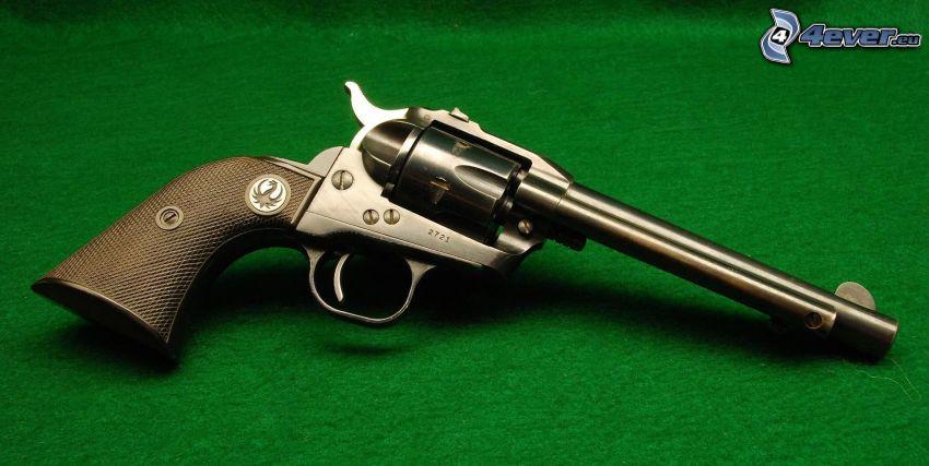 revolver, vapen
