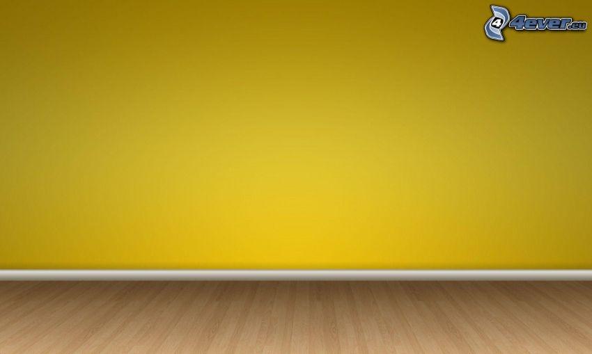 vägg, golv