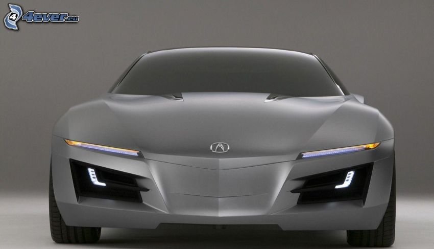 Acura NSX, koncept, frontgaller
