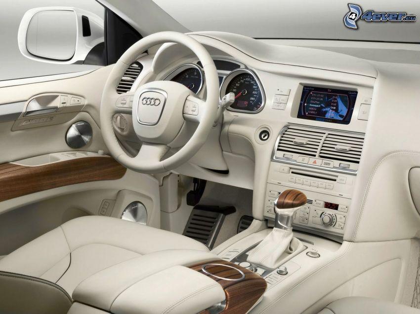 Audi Q7, interiör