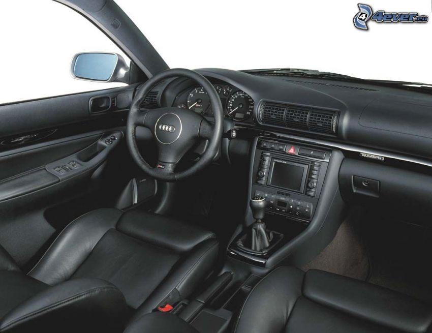 Audi RS4, interiör