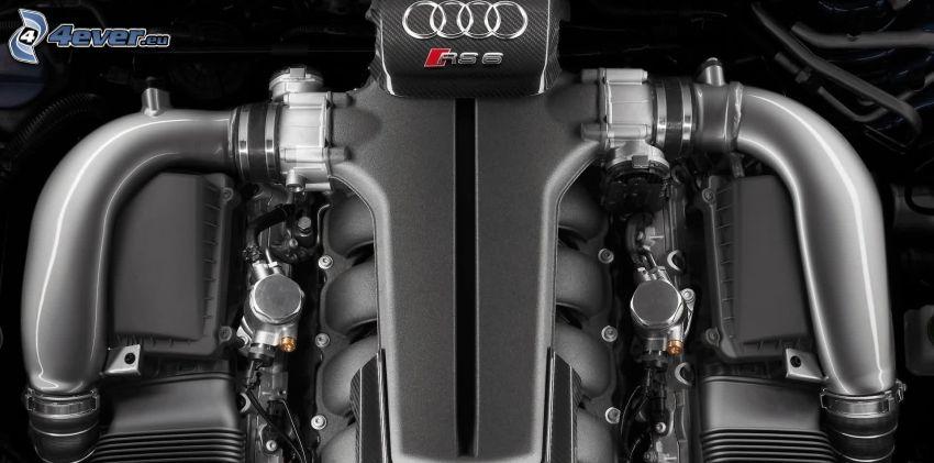 Audi RS6, motor