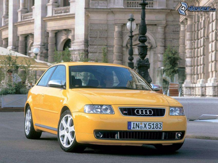 Audi S3, stad