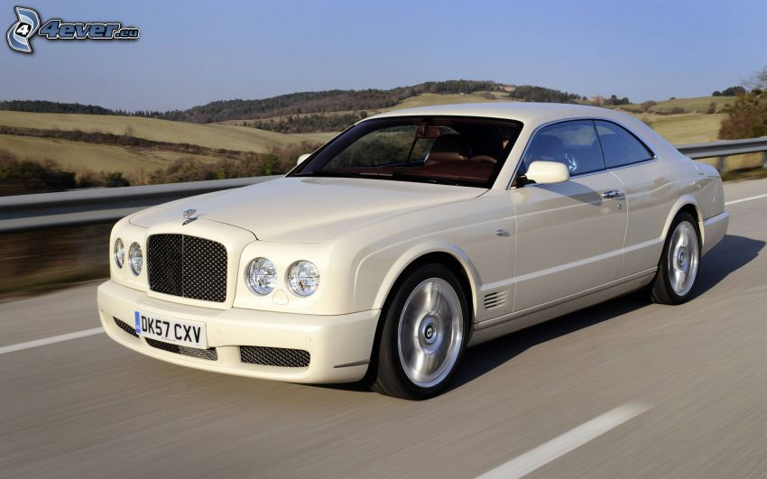 Bentley, fart, väg
