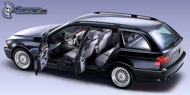 BMW 528i, combi