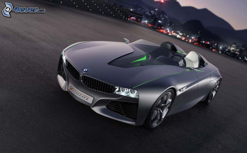 BMW Vision Efficient Dynamics, koncept, cabriolet