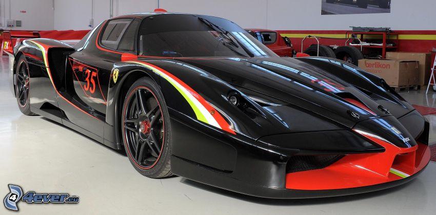Ferrari FXX, utställning