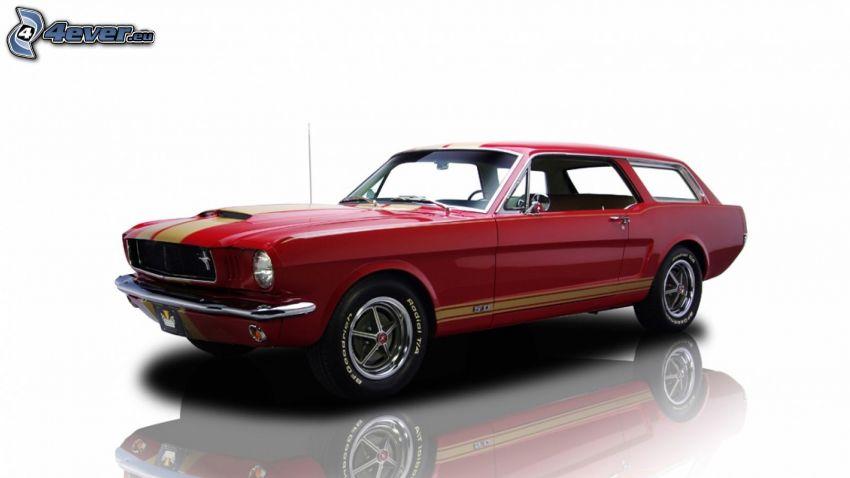 Ford Mustang, combi, veteran