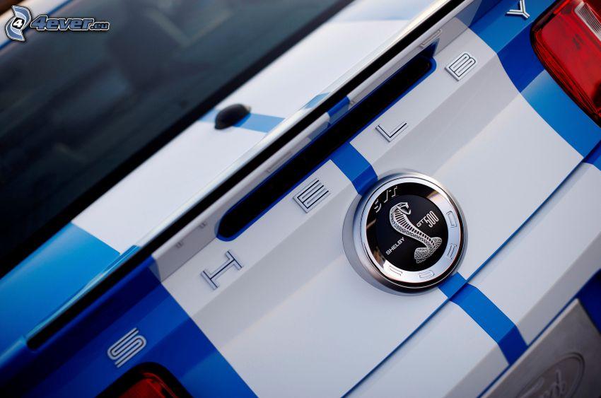 Ford Mustang Shelby Cobra, logo