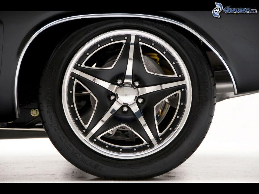 hjul, disk, Muscle Car