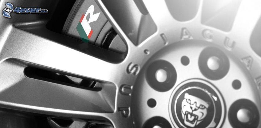 hjul, Jaguar XKR