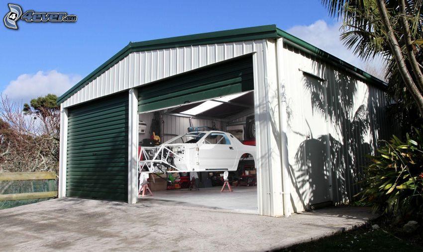 karosseri, garage