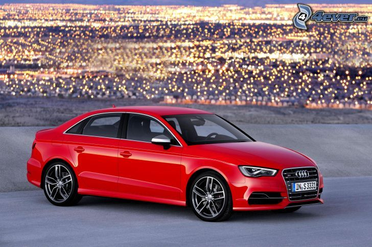 Audi A3, ljus