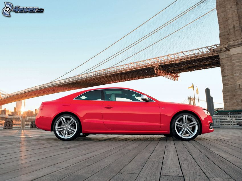 Audi A5, Brooklyn Bridge