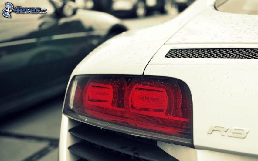 Audi R8, bakljus