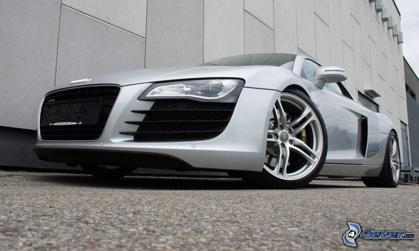 Audi R8, frontgaller, hjul