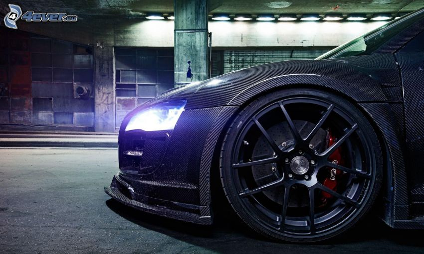 Audi R8, hjul, disk