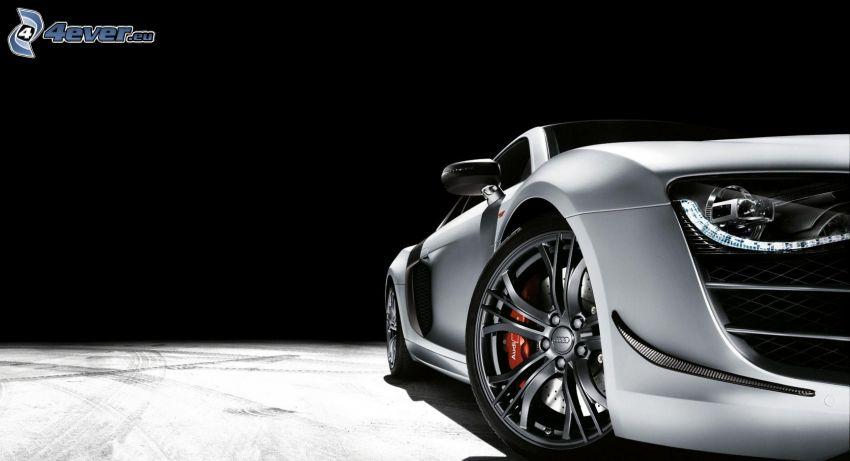 Audi R8, strålkastare
