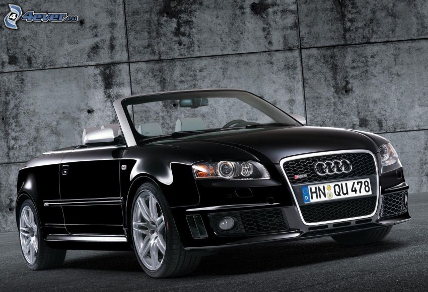 Audi RS4, cabriolet