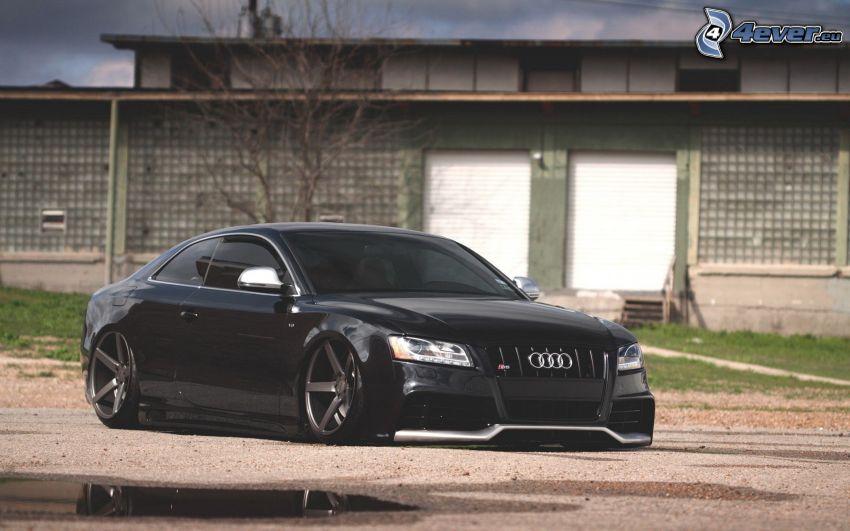 Audi S5, lowrider
