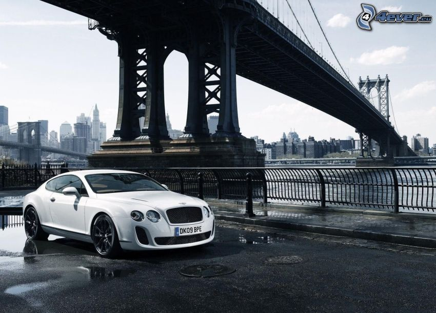 Bentley Continental, Manhattan Bridge