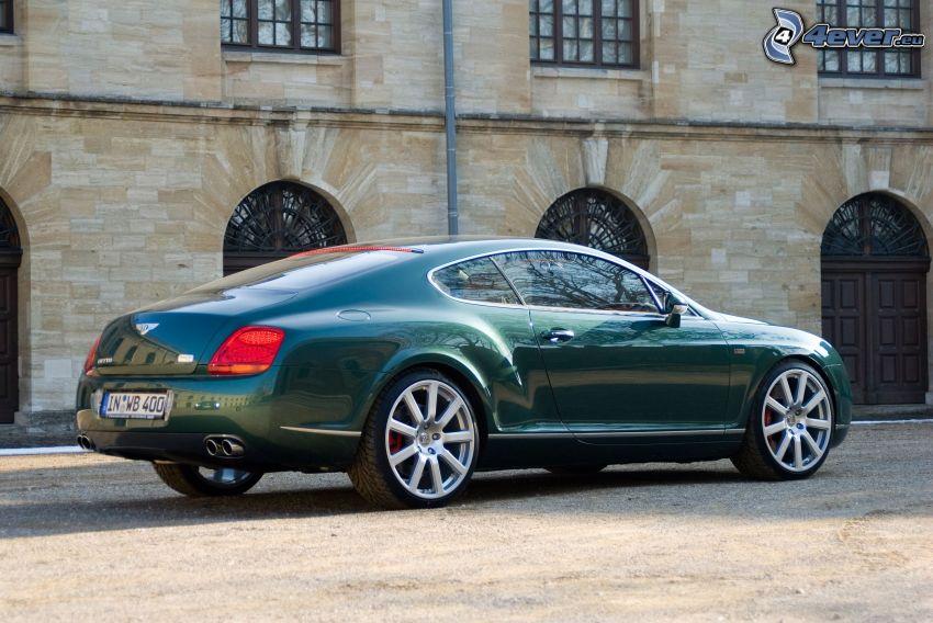 Bentley Continental GT, historisk byggnad