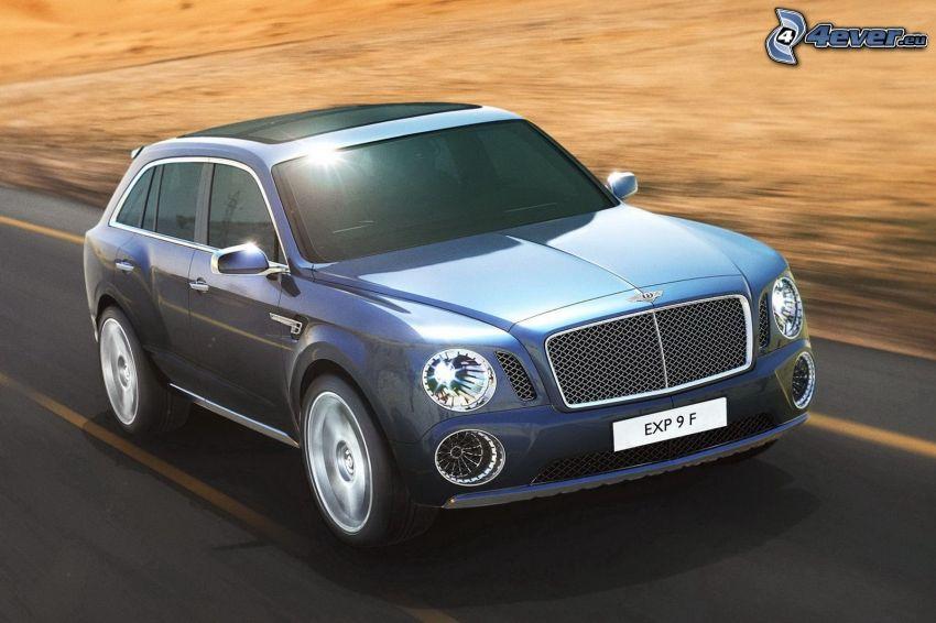 Bentley EXP 9F, fart