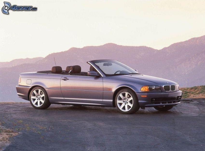 BMW, cabriolet, kullar