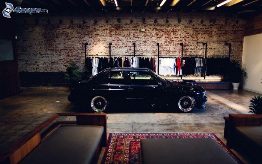 BMW E30, vardagsrum