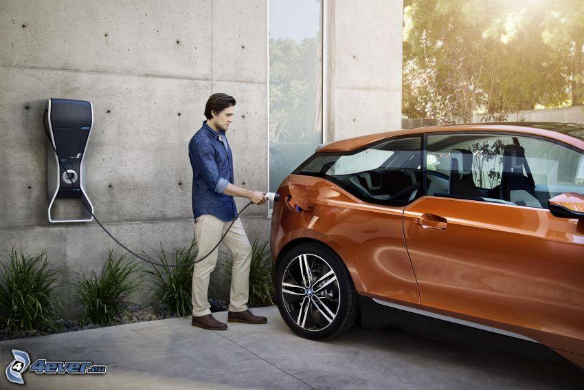 BMW i3, laddning