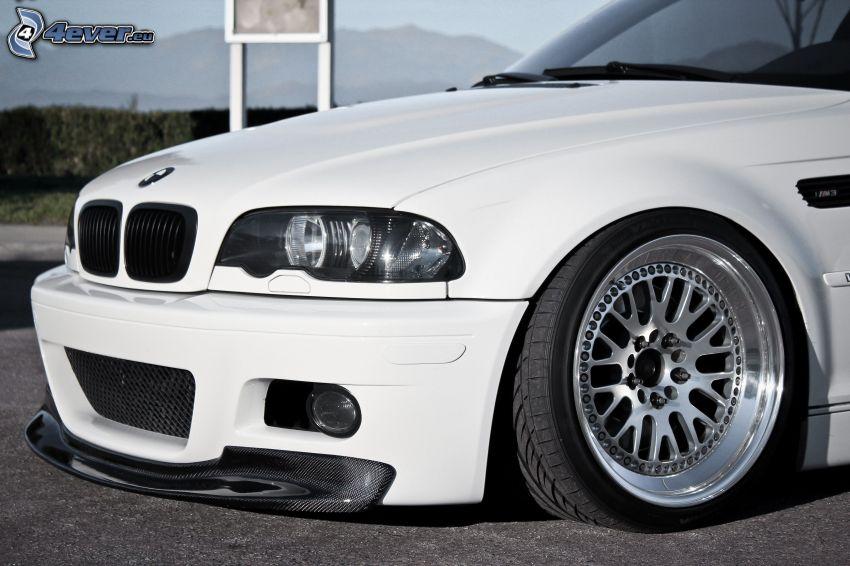 BMW M3, frontgaller, lowrider
