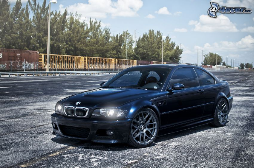 BMW M3, ljus