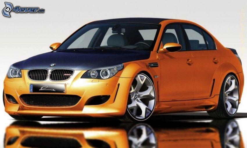 BMW M5, spegling