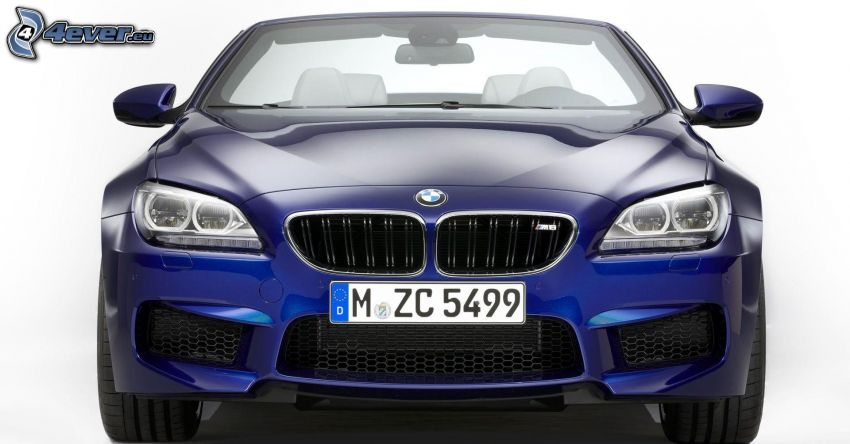 BMW M6, cabriolet, frontgaller
