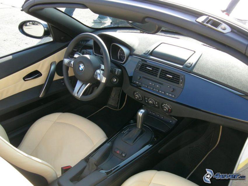 BMW Z4, interiör