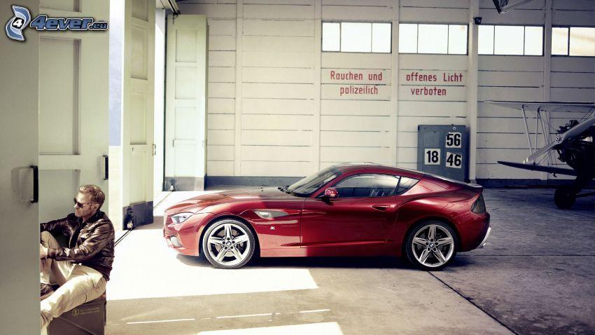 BMW Zagato, hangar