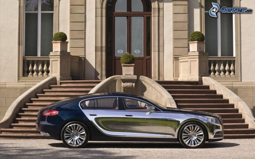 Bugatti 16C Galibier, byggnad, trappor