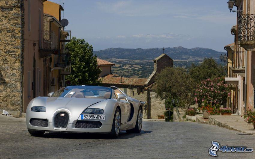 Bugatti Veyron, gata, bergskedja