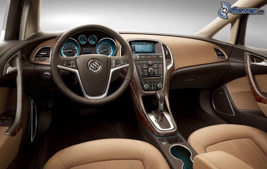 Buick Verano, interiör, ratt