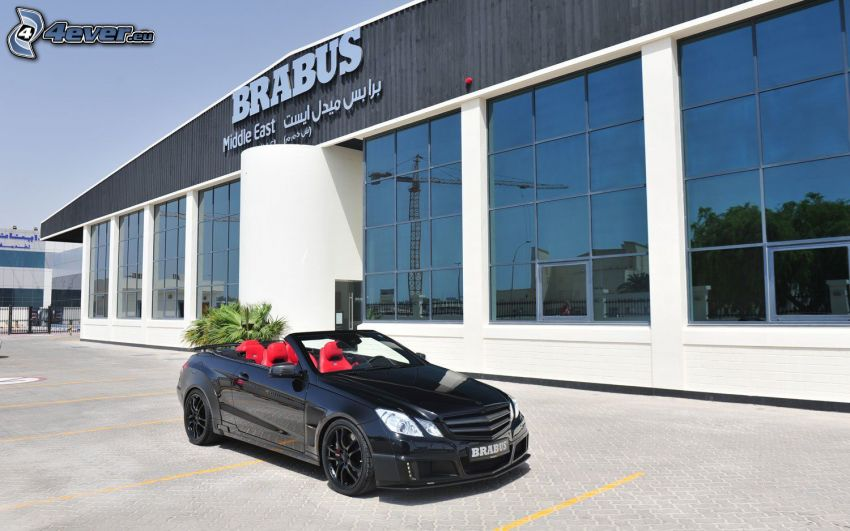 Cabriolet Brabus 800, byggnad