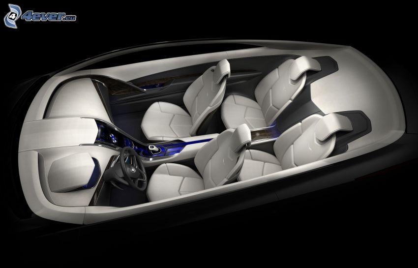 Cadillac Converj, koncept, interiör