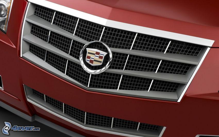 Cadillac CTS, frontgaller, logo