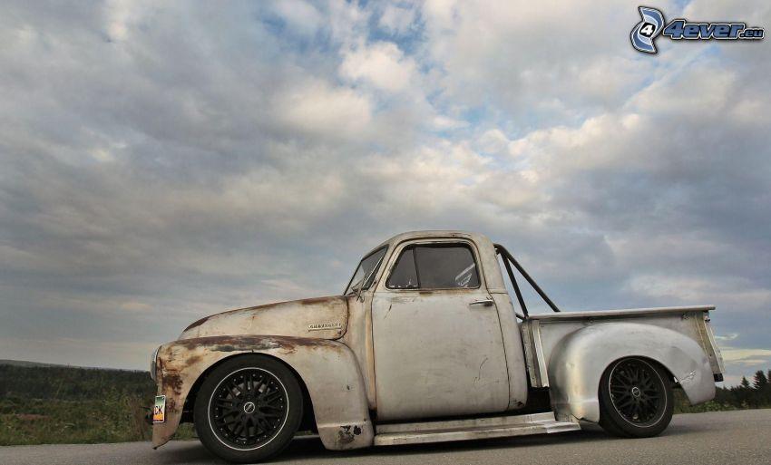 Chevrolet, pickup truck, veteran