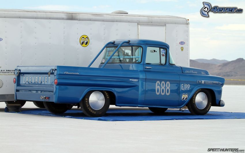 Chevrolet, pickup truck