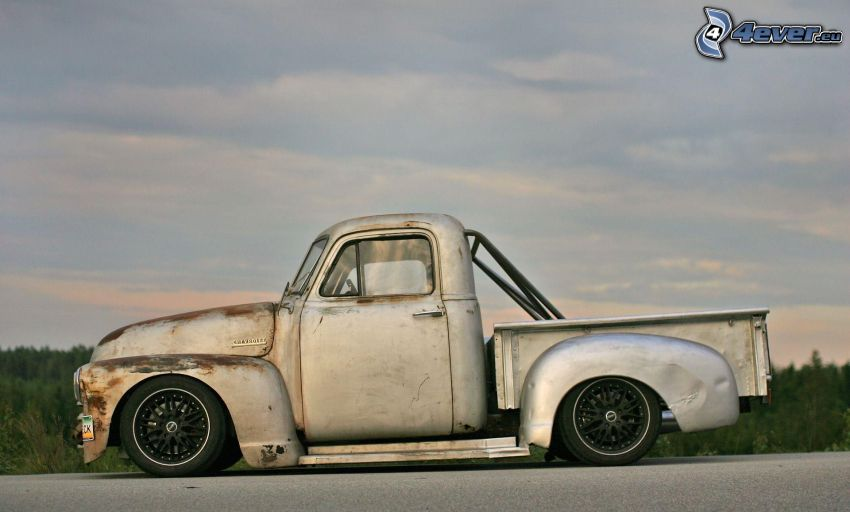 Chevrolet, veteran, pickup truck