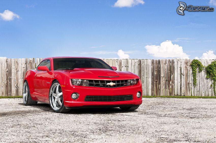 Chevrolet Camaro, trästaket